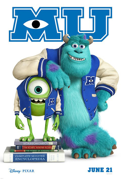 DISNEY/PIXAR MONSTERS UNIVERSITY