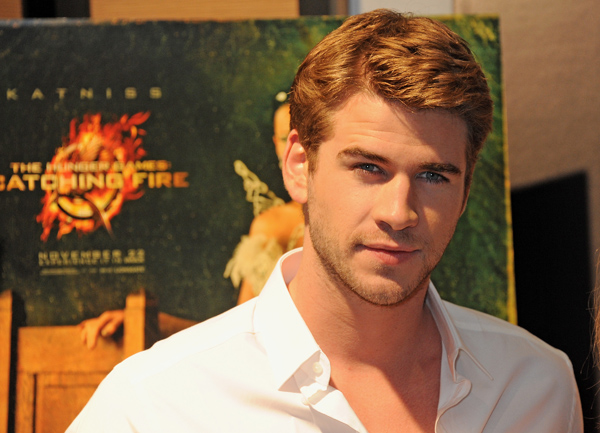 "Liam Hemsworth from ""The Hunger Games: Catching Fire"" At The 2013 Cannes Film Festival"