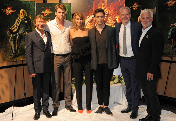 """The Hunger Games: Catching Fire"" At The 2013 Cannes Film Festival"