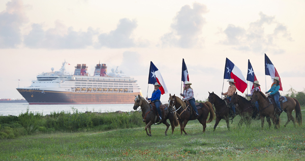 Disney Magic arrived in Galveston, photo by Matt Stroshane, courtesy Disney Cruise Line