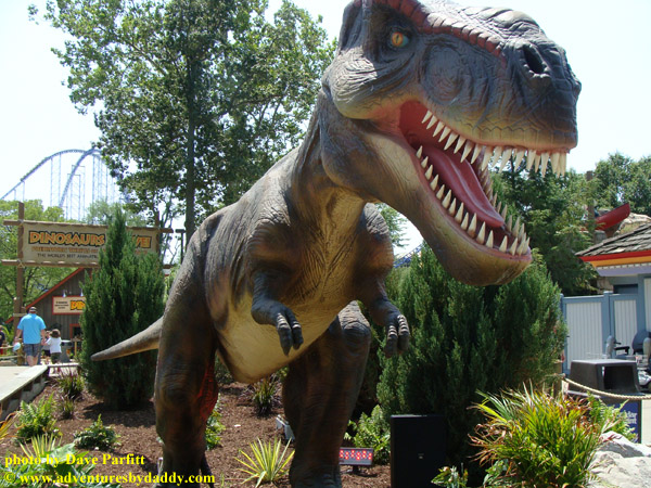 Dinosaurs Alive at Cedar Point Amusement Park