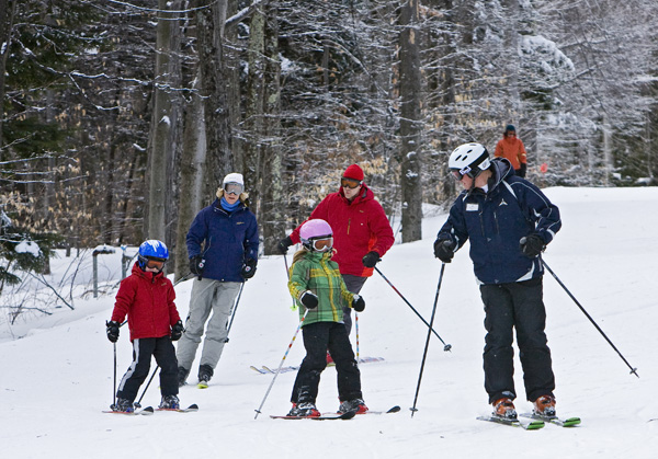 Family Ski Lessons at Whiteface Mountain