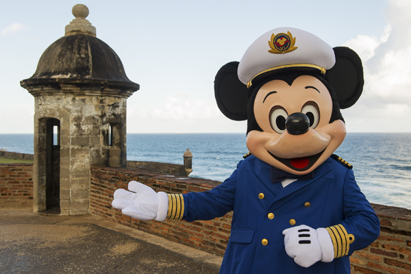 Disney Cruise Line Captain Mickey in Puerto Rico