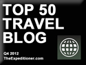 Top 50 Travel Blog