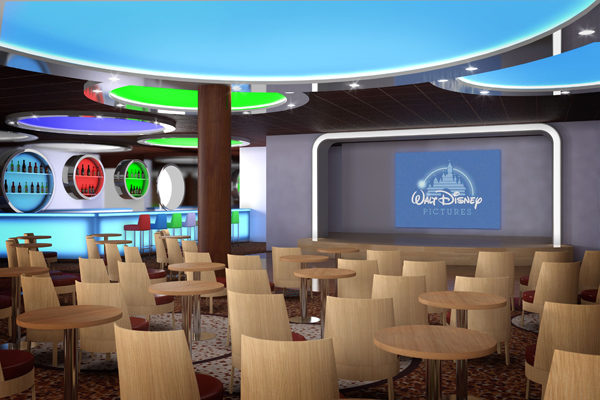 Disney Magic - D Lounge