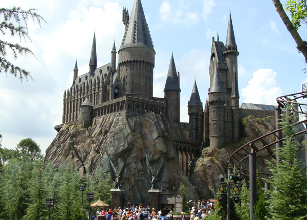 Hogwarts Castle at Universal Orlando's Wizarding World of Harry Potter