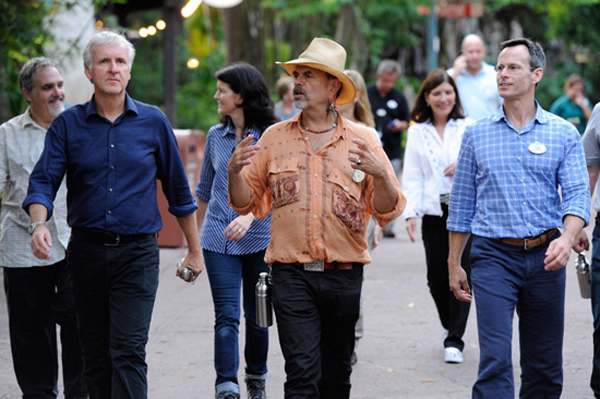 James Cameron, Joe Rohde, and Tom Staggs explore Disney's Animal Kingdom