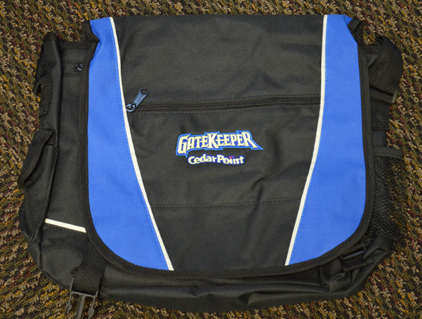 Cedar Point GateKeeper messenger bag