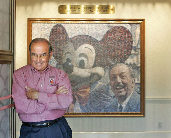 Disney Imagineering Legend Marty Sklar