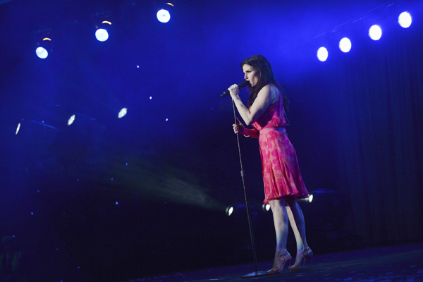IDINA MENZEL AT D23 EXPO