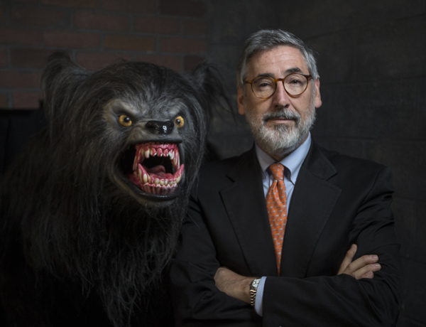 Director John Landis at Halloween Horror Nights 23