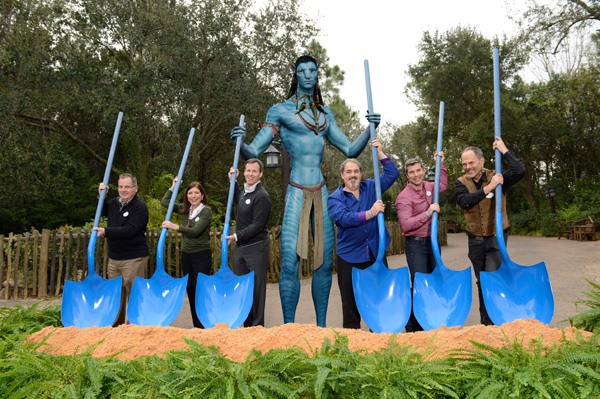 Groundbreaking for AVATAR-Inspired Land at Disney's Animal Kingdom