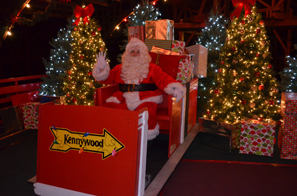 Kennywood Holiday Lights 2013