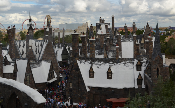 Hogsmeade from Flight of the Hippogriff