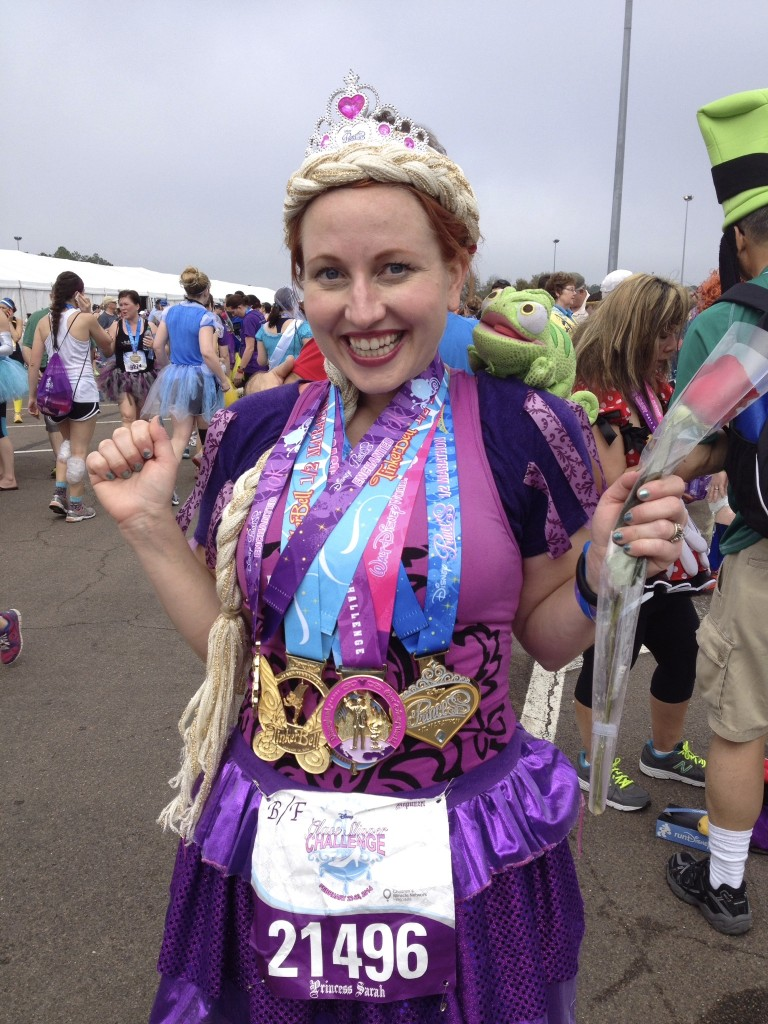 Skywalking Princess Half Marathon