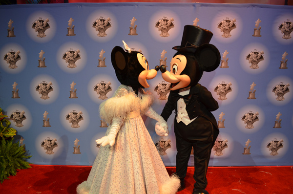Mickey and Minnie Mouse Celebrate Disney's Hollywood Studios 25th Anniversary