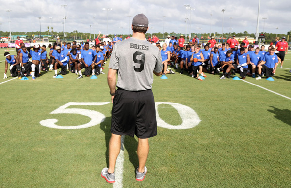 Drew Brees Passing Academy at ESPN Wide World of Sports