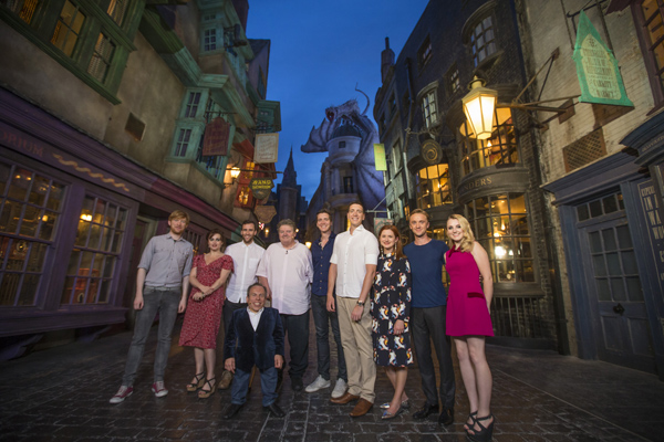 Wizarding World of Harry Potter - Diagon Alley Red Carpet