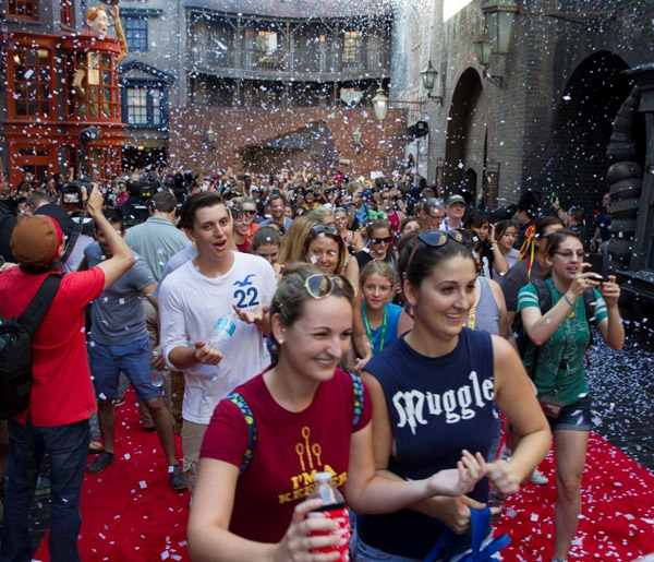 Diagon Alley Grand Opening