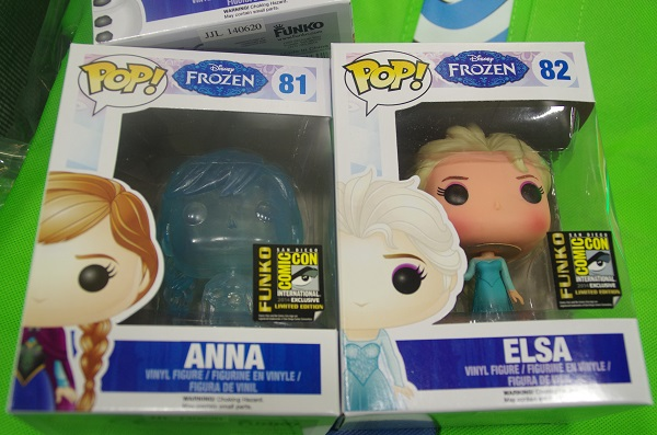 Exclusive Anna and Elsa Funko Pop! Figures at San Diego Comic-Con