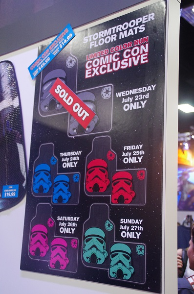 Daily Stormtrooper Floor Mats at San Diego Comic-Con