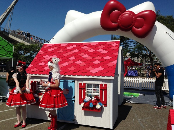 Hello Kitty Booth at San Diego Comic-Con