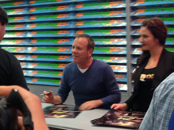 Kiefer Sutherland Appearance at San Diego Comic-Con