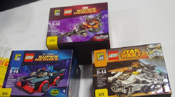 Lego San Diego Comic-Con Exclusive Kits: Guardians of the Galaxy, Batman, and Star Wars