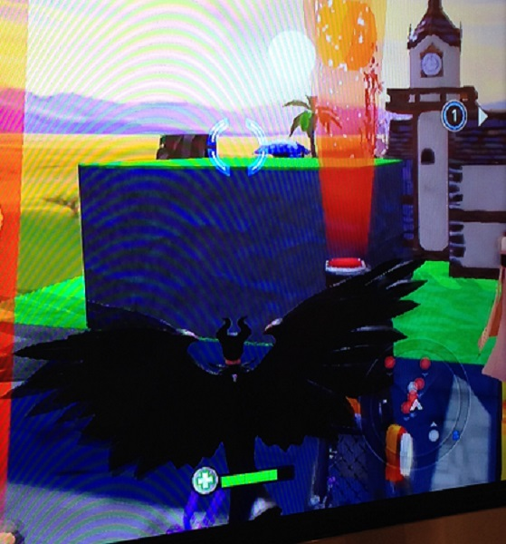 Maleficent in Disney Infinity 2 at San Diego Comic-Con