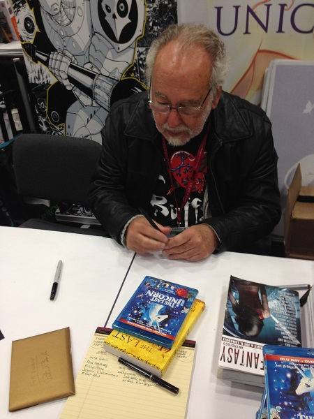 Peter Beagle Signing Autographs at San Diego Comic-Con