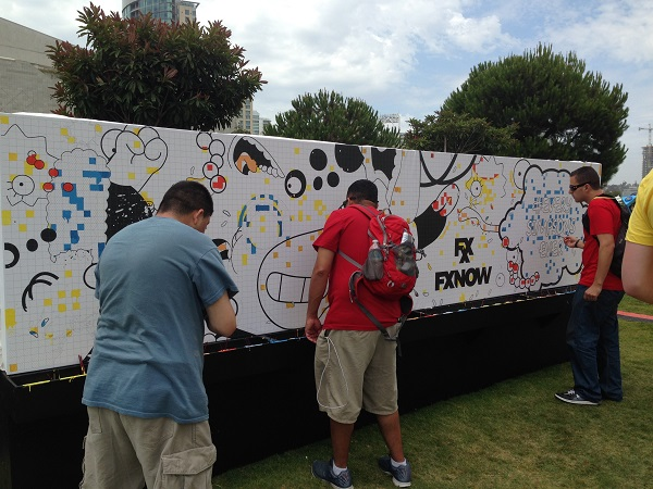 Simpsons Guinness World Record Attempt at San Diego Comic-Con
