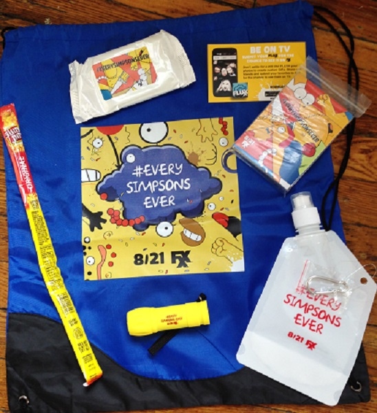 Simpsons Survival Kit at San Diego Comic-Con