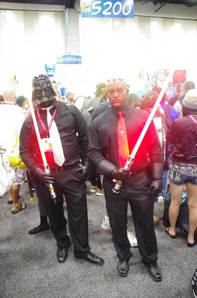 Star Wars Costumes at San Diego Comic-Con
