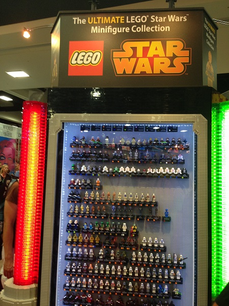 Ultimate Lego Star Wars Minifig Collection at San Diego Comic-Con