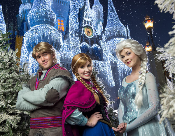 More of the Wintry Wonder and Magic of DisneyÕs ÒFrozenÓ Coming to Magic Kingdom This Holiday Season