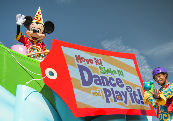 'Move It! Shake It! Dance & Play It!' Street Party to Debut at Magic Kingdom