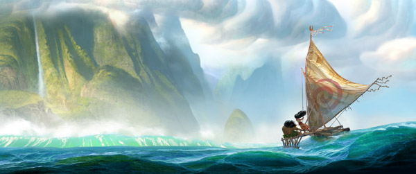 "Ron Clements and John Musker go back to the sea for Walt Disney Animation Studios' 56th feature film, MOANA.  The filmmaking team behind ""The Little Mermaid,"" ""Aladdin,"" and ""The Princess […]"