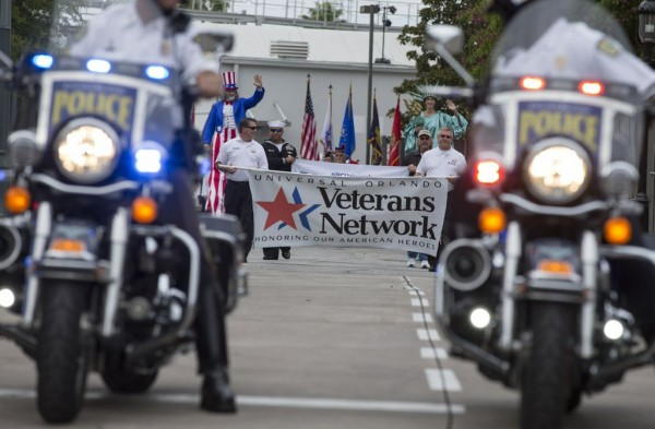 Veteran's Day Parade at USF