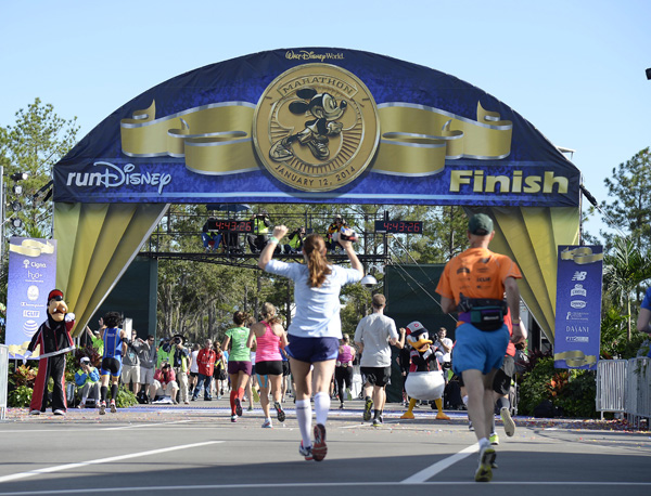 2014 WALT DISNEY WORLD MARATHON