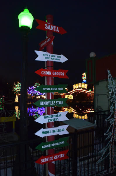 Kennywood Holiday Lights 2014