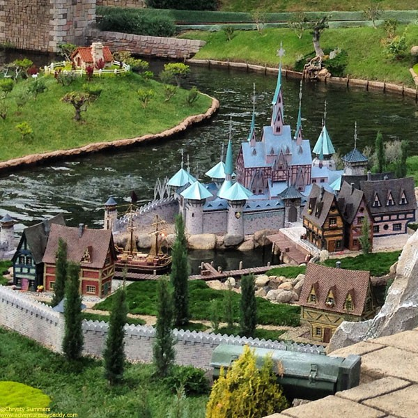 A closer look at Arendelle.