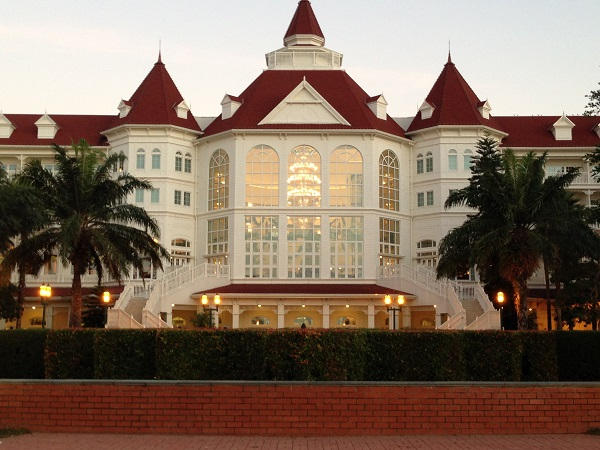 HKDL Disneyland Hotel View from Sea