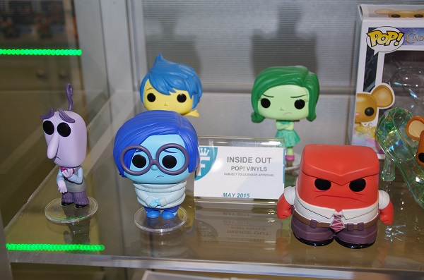 Funko Pop! Vinyls for Disney's Inside Out at Toy Fair New York 2015