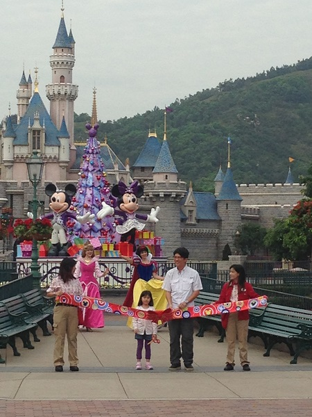 HKDL Rope Drop Ceremony
