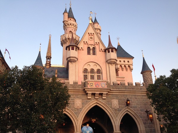 HKDL Sleeping Beauty Castle from Fantasyland