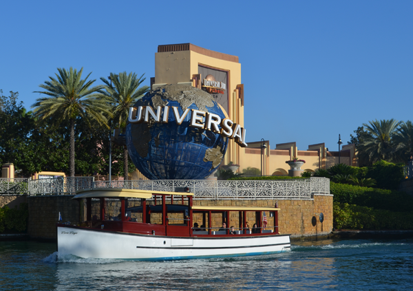 Universal Studios Florida from Water Taxi