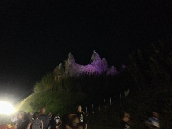 Back Side of Everest, viewable from the Expedition Everest Challenge 5k course