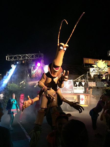 Slim at the Expedition Everest Challenge Summit Party