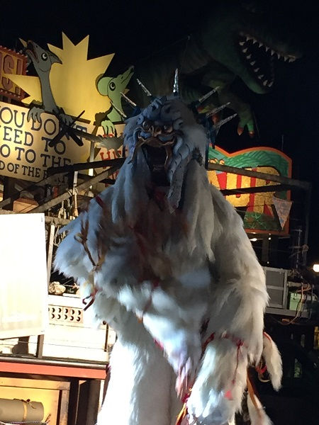 Yeti at the Expedition Everest Challenge Summit Party