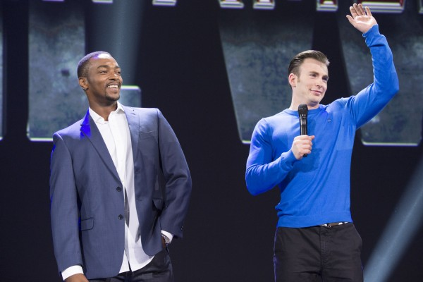 ANTHONY MACKIE, CHRIS EVANS